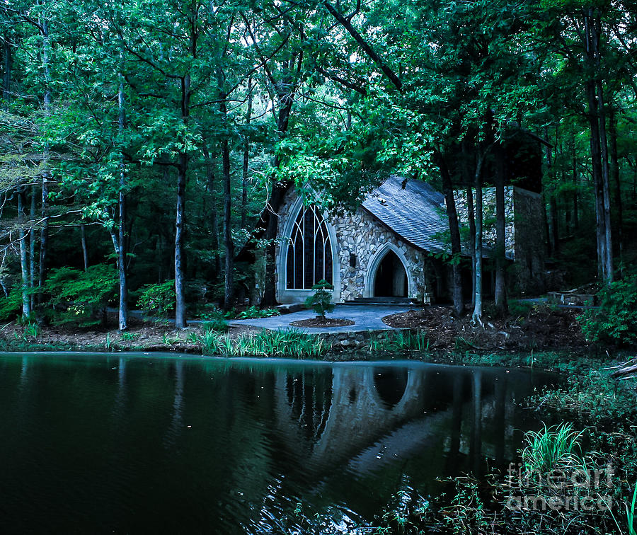 Church Photograph - Old Country Chapel by Christina Phillips