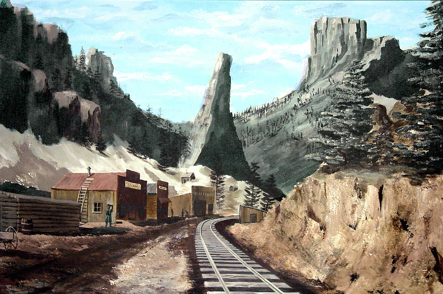 Old Creede by Sam Sidders