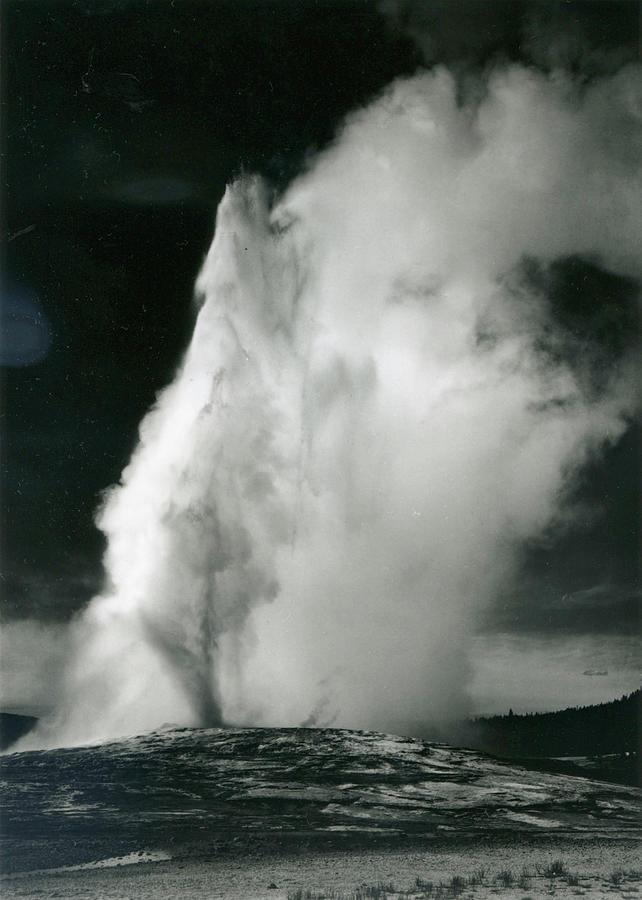 Old Faithful Geyser, Yellowstone Photograph by Archive Photos