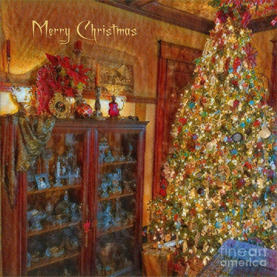 Old Fashioned Merry Christmas by Jodie Marie Anne Richardson Traugott          aka jm-ART