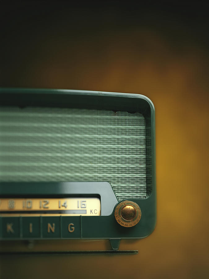 Old-fashioned Radio With Dial Tuner Photograph by Stockbyte