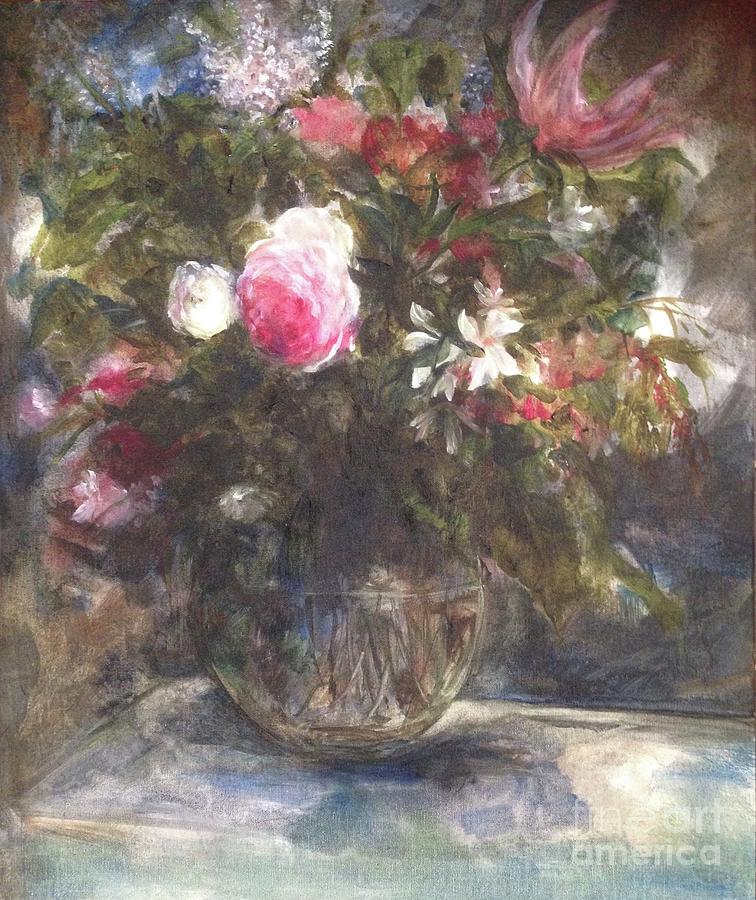 Old Fashioned Still Life Painting