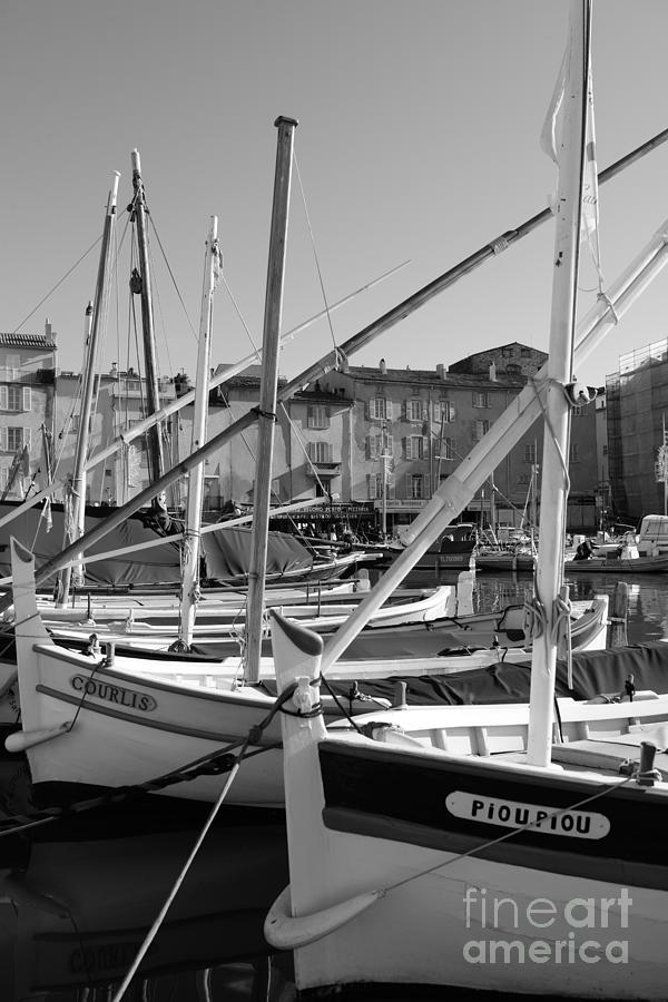 Old fishing boats by Tom Vandenhende