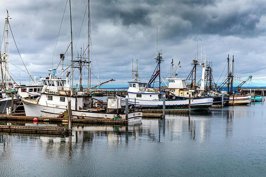 Old Fishing Fleets I by Larry Waldon