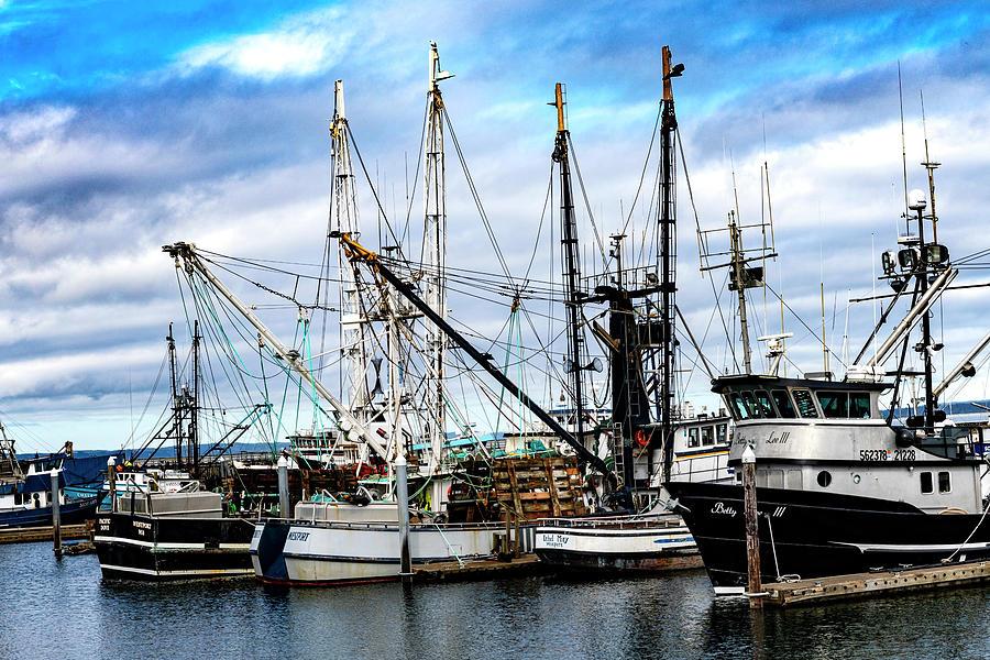 Old Fishing Fleets II by Larry Waldon