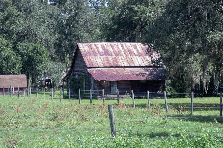 Old Florida Homestead by Rick Redman