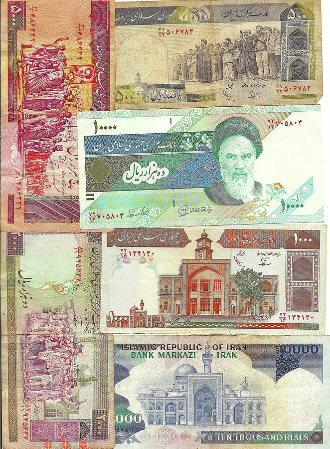 Old foreign currency by Steve Estvanik