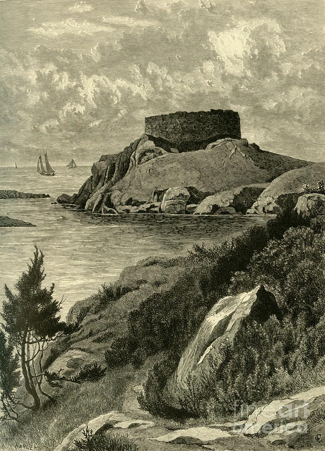 Old Fort Dumpling Drawing by Print Collector