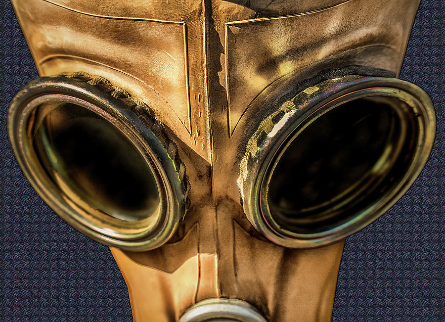 Old Gas Mask by Phil Cardamone