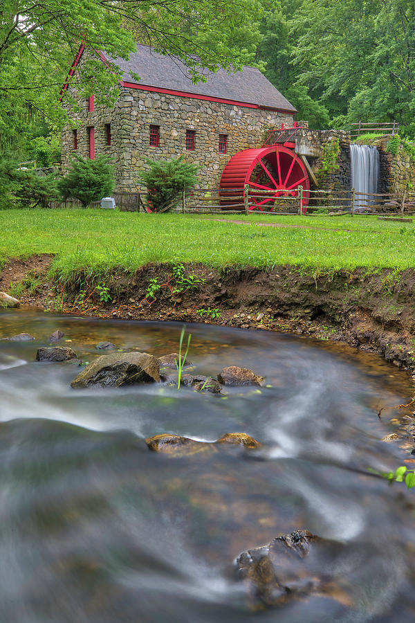 Old Grist Mill Museum by Juergen Roth