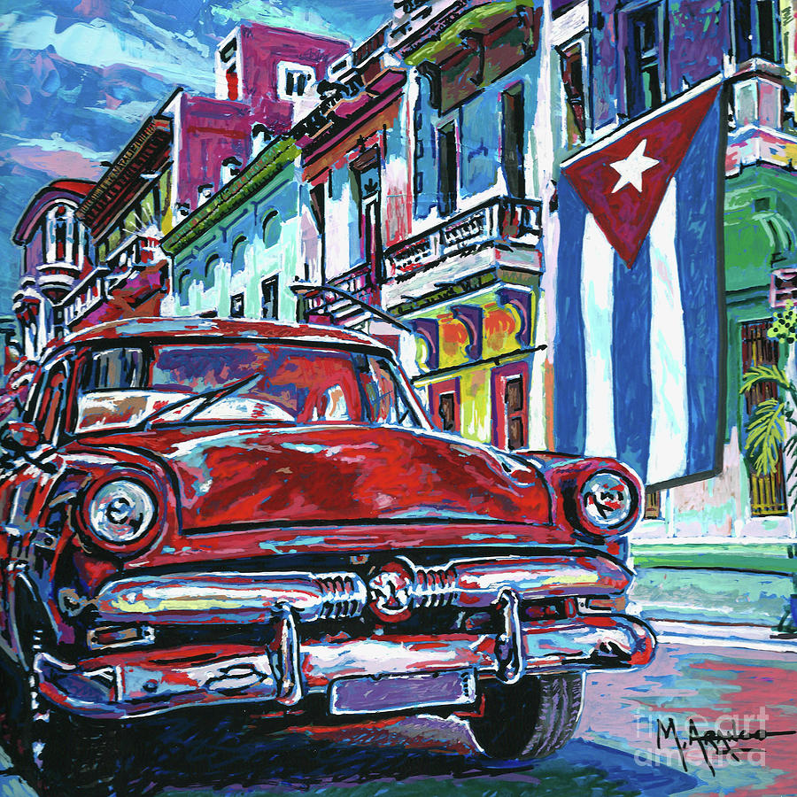Old Havana by Maria Arango