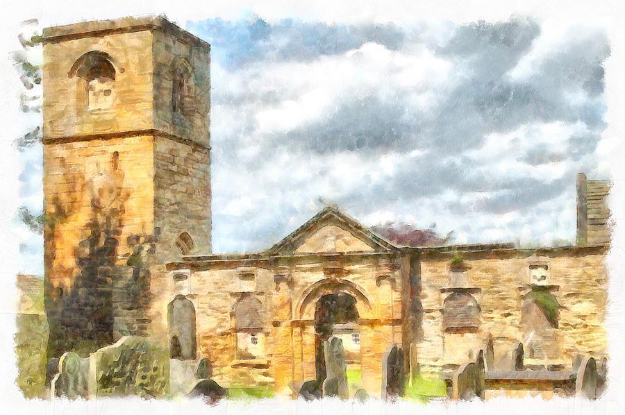 Old Holy Trinity Church, Wentworth by Taiche Acrylic Art