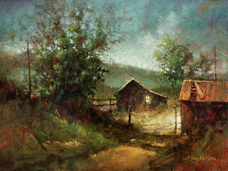 Old Homeplace Painting