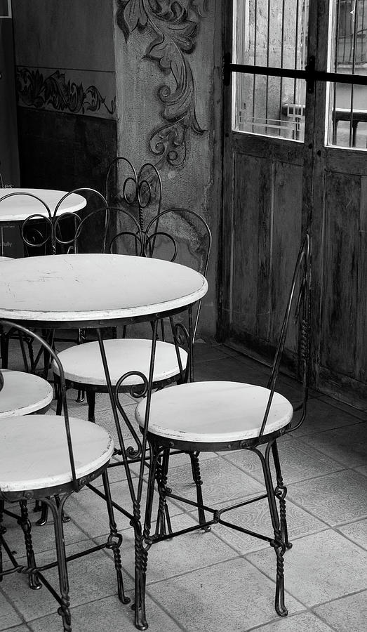 Old Ice Cream Parlor Photograph by Maryann Flick