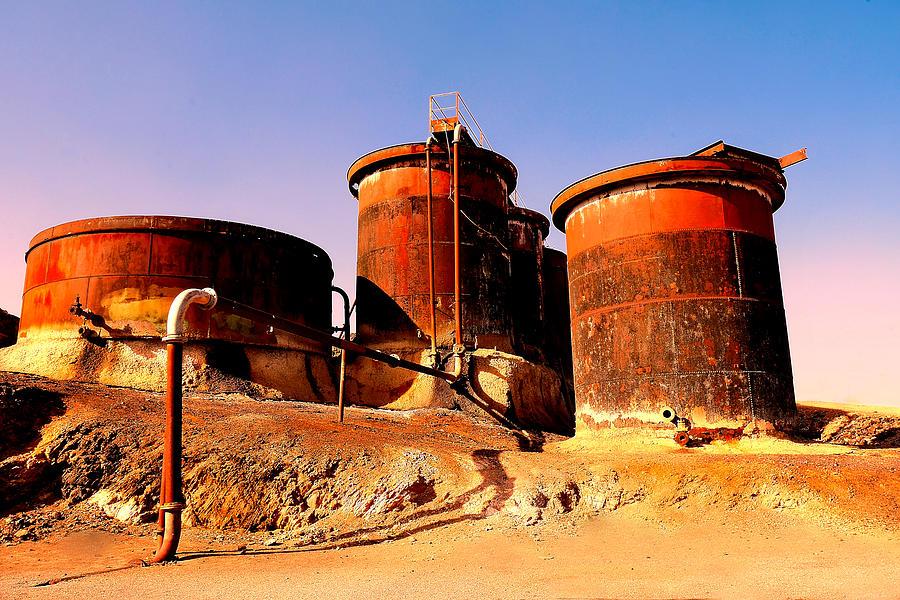 Old Junction Mine - Broken Hill by Lexa Harpell