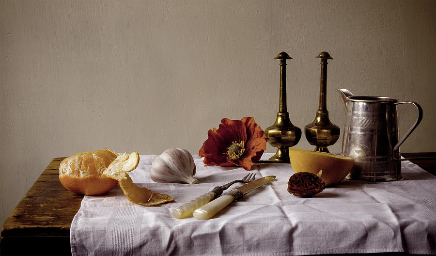 Old Kitchen Still Life Photograph by Pch