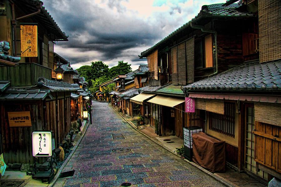 Old Kyoto Photograph by Copyright Artem Vorobiev