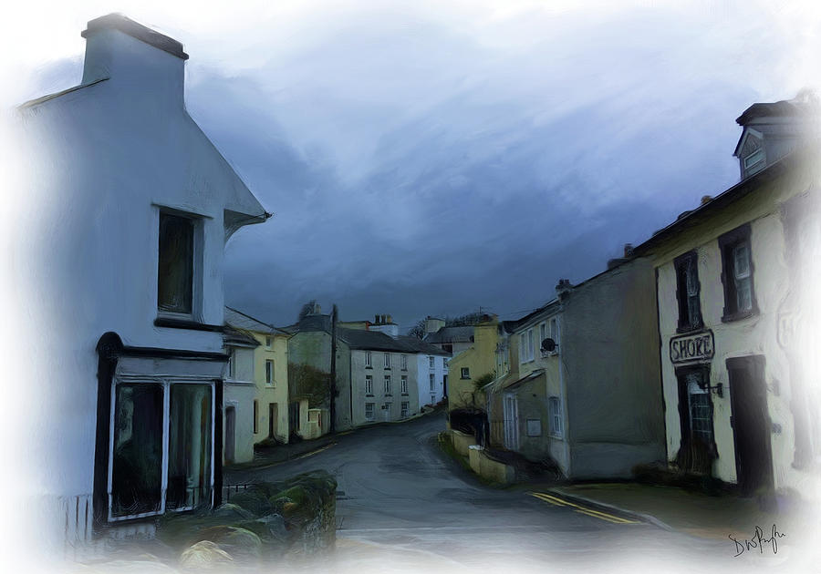 Old Laxey village 1 by Digital Painting