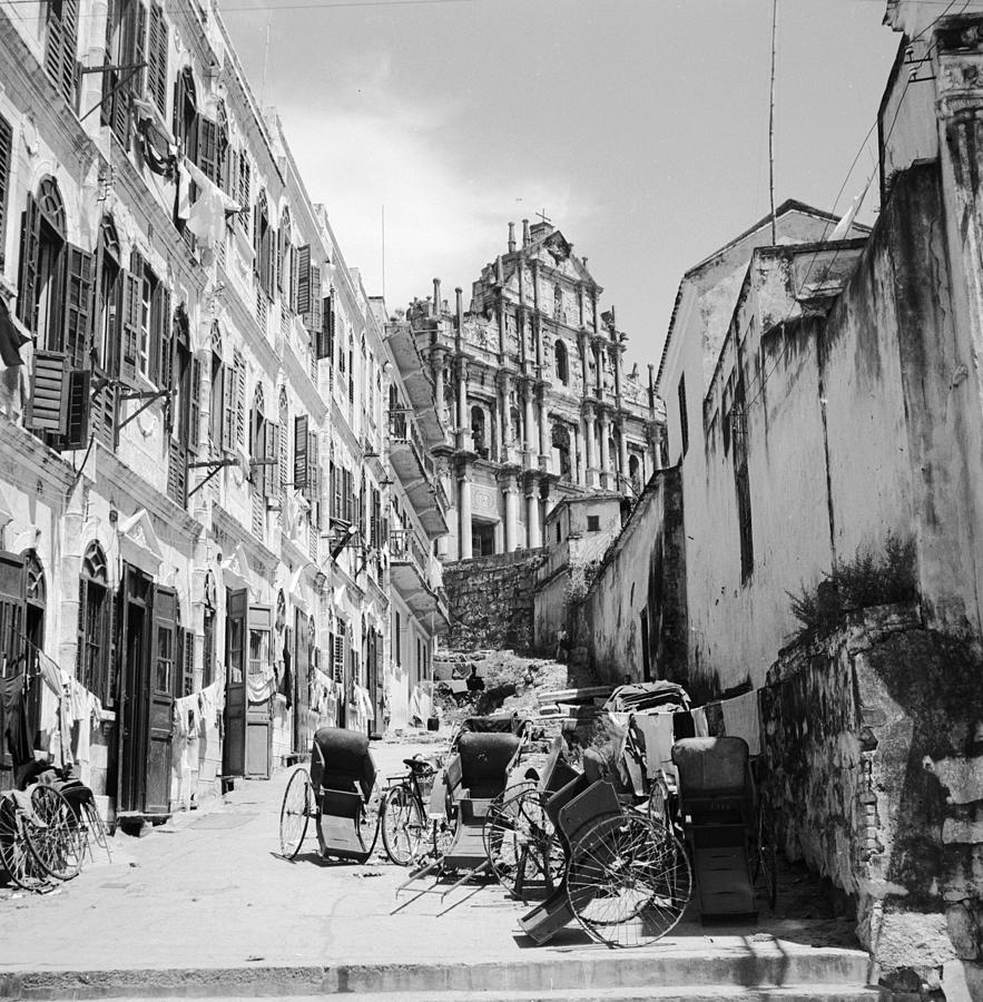 Old Macao Photograph by Three Lions