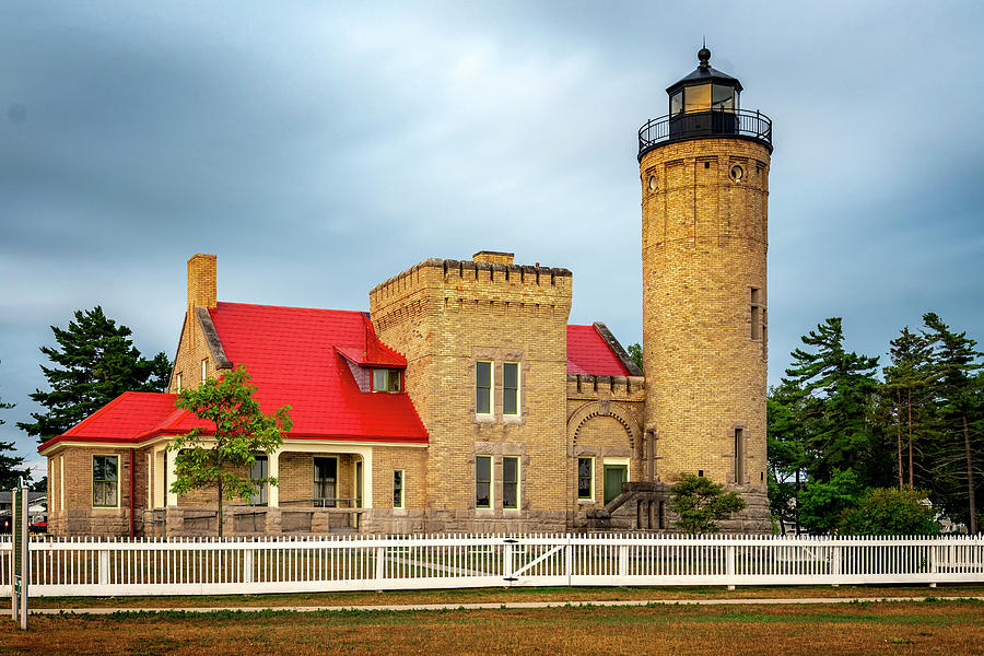 Old Mackinac Point Lighthouse MI GRK5137_08052019 by Greg Kluempers