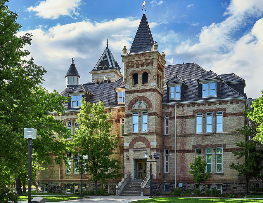 Old Main Utah State University Logan Utah by TL Mair