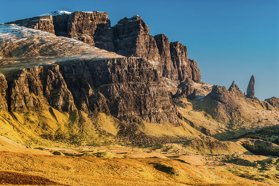 Britain Photograph - Old Man Of Storr, Skye by David Ross