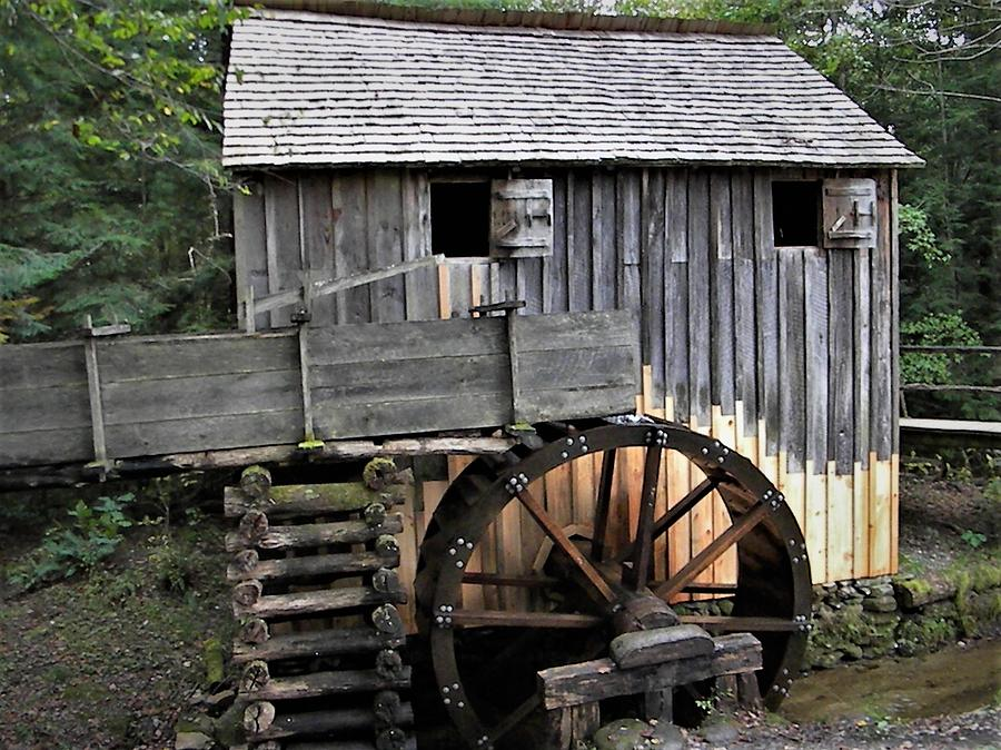 Old Mill at Cades Cove by Ken Bradford