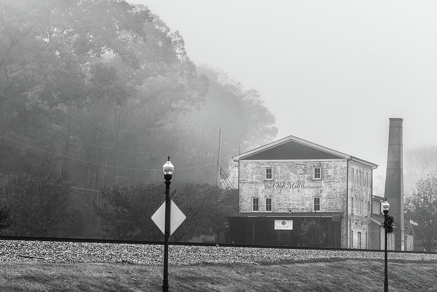 Old Mill by the Tracks by James L Bartlett