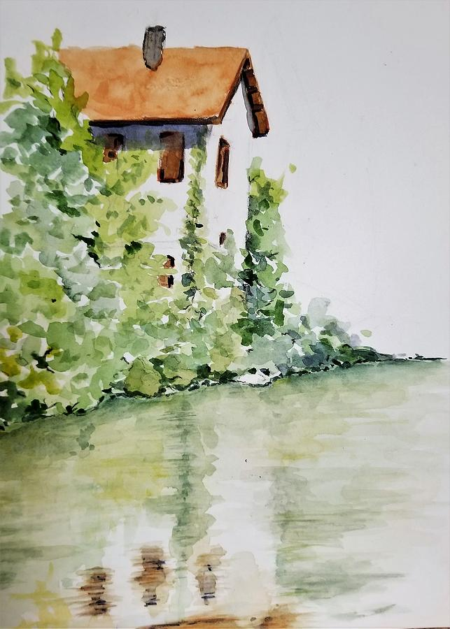 Old Mill House by Lettie Neuhauser-MacLachlan
