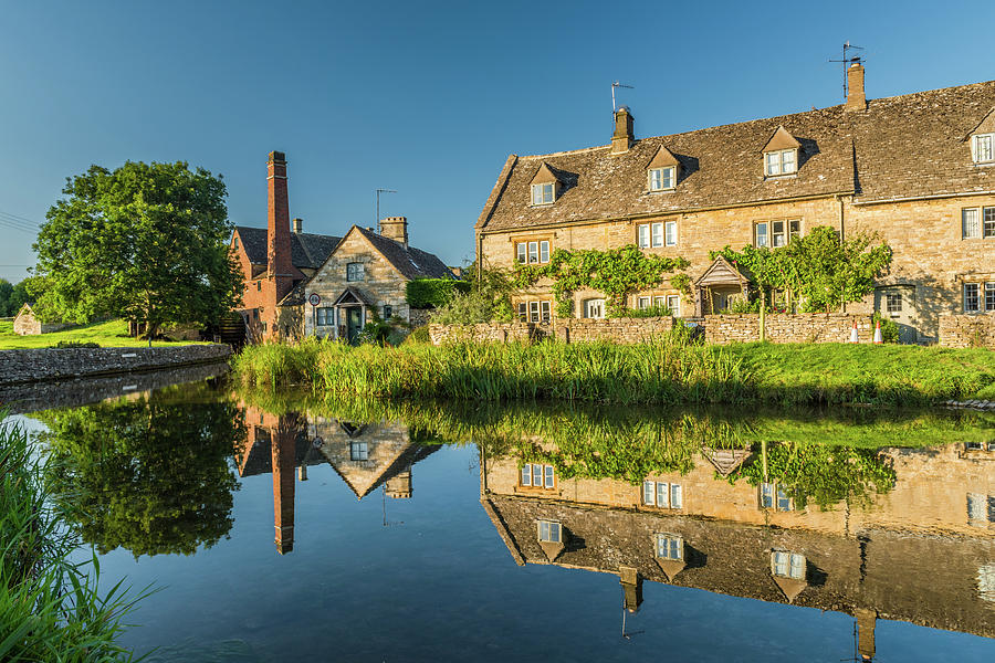 Cotswolds Photograph - Old Mill, Lower Slaughter, Gloucestershire by David Ross