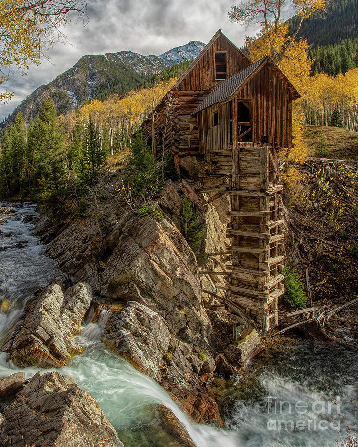 Old Mill by Roxie Crouch