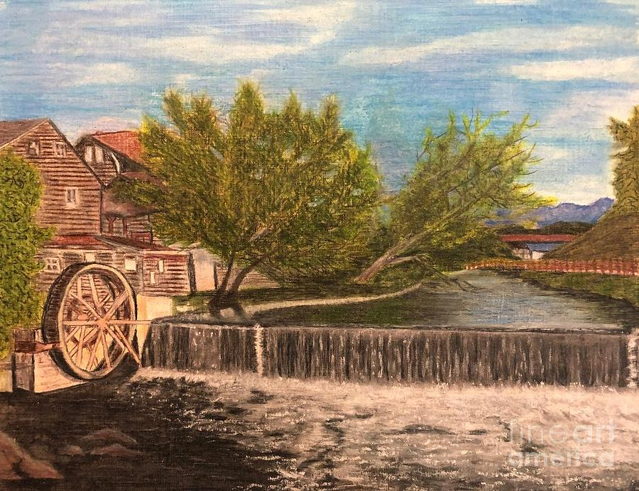 Old Mill by Tina Pilgrim