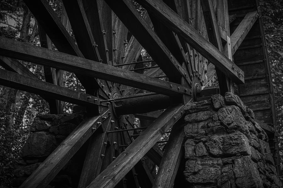 Old Mill Wheel  by Keith Smith