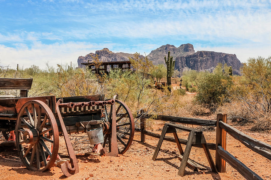 Old Mining Days 1 by Dawn Richards