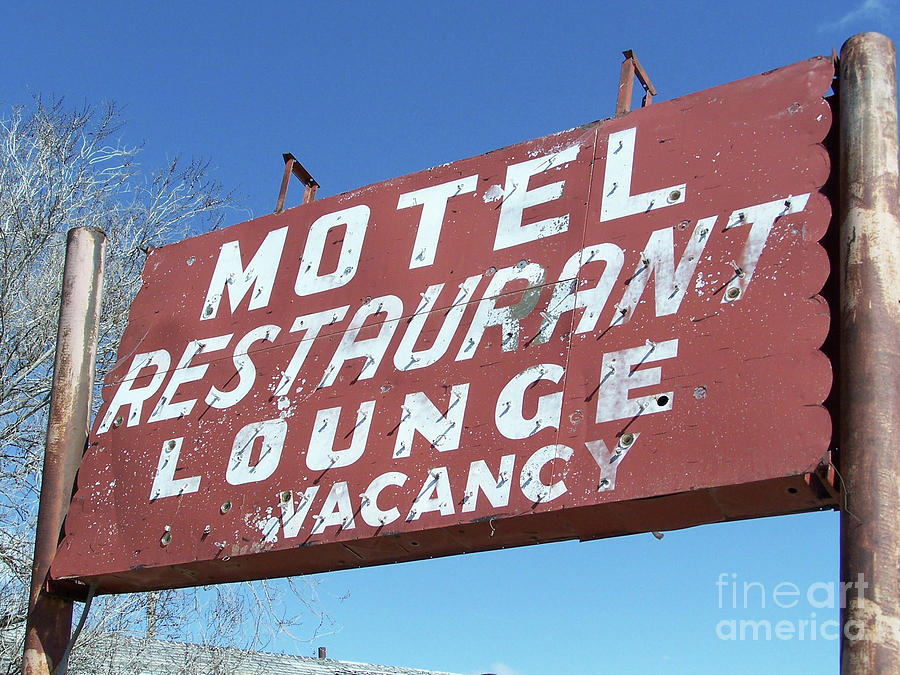 Old Motel Neon by Tony Baca
