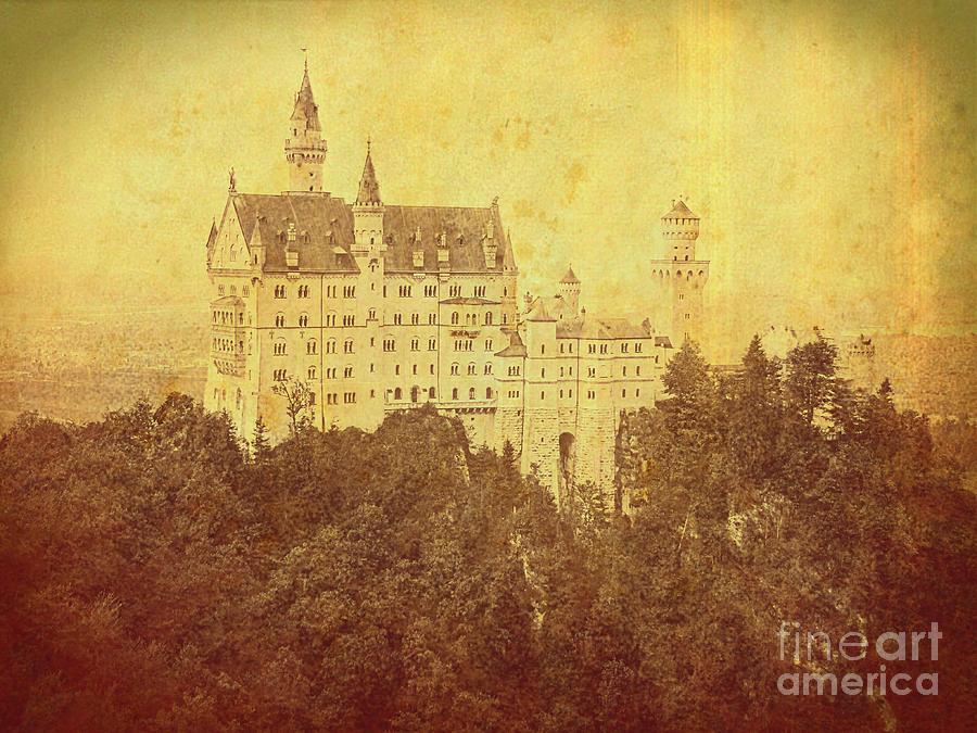 Old Neuschwanstein Castle by Jurgen Huibers
