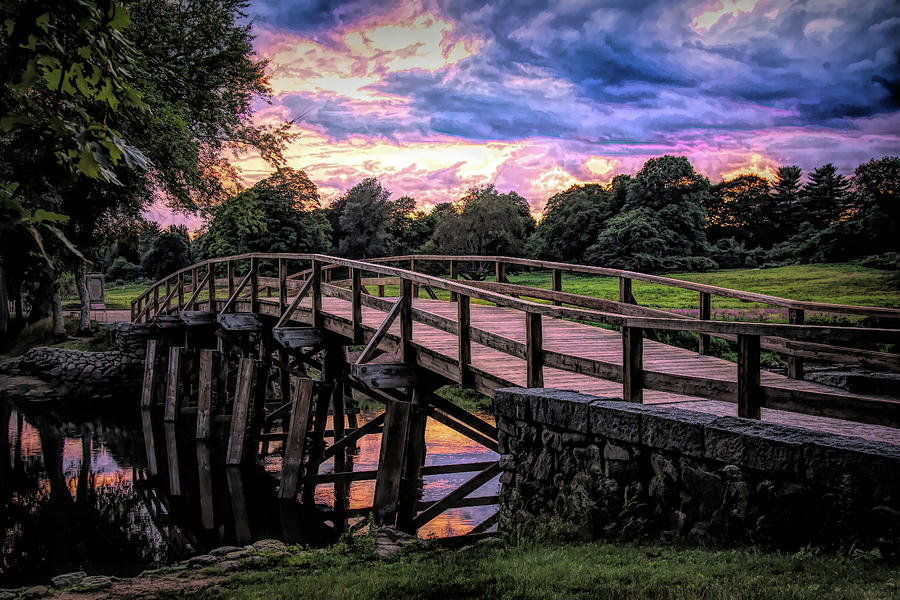 Old North Bridge, Concord Mass by Jeff Folger