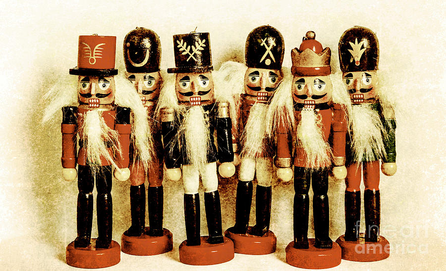 Xmas Photograph - Old Nutcracker Brigade by Jorgo Photography - Wall Art Gallery