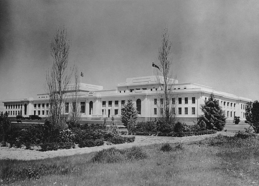 Old Parliament House Photograph by F. Brooks