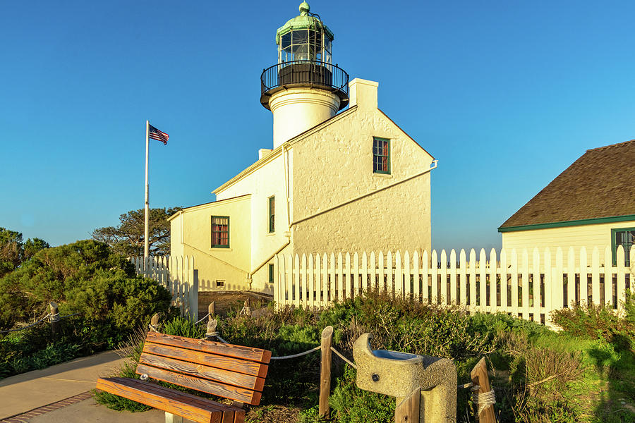Old Point Loma Lighthouse 1 by Donald Pash