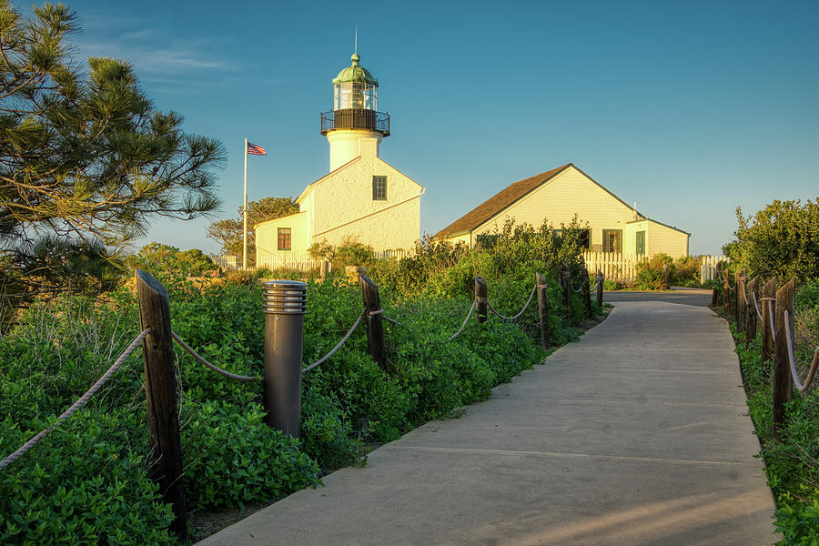 Old Point Loma Lighthouse 2 by Donald Pash