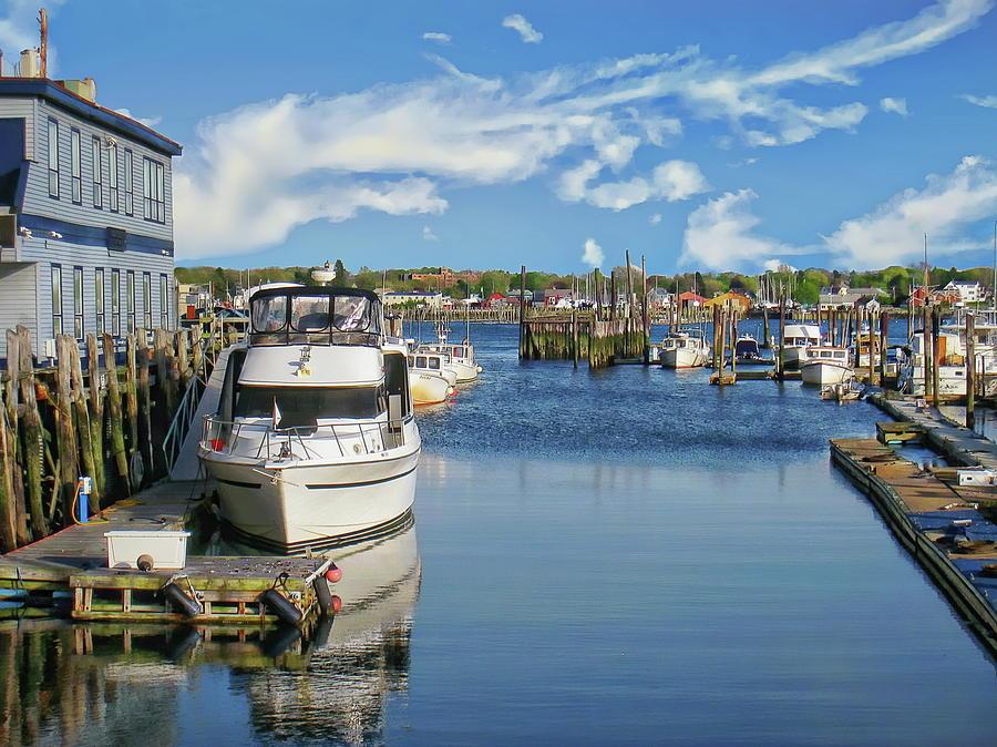 Old Port Maine by Anthony Dezenzio