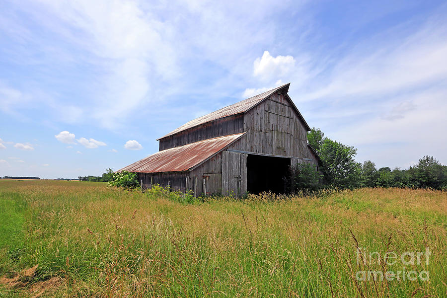 Old Post Barn by Paula Guttilla