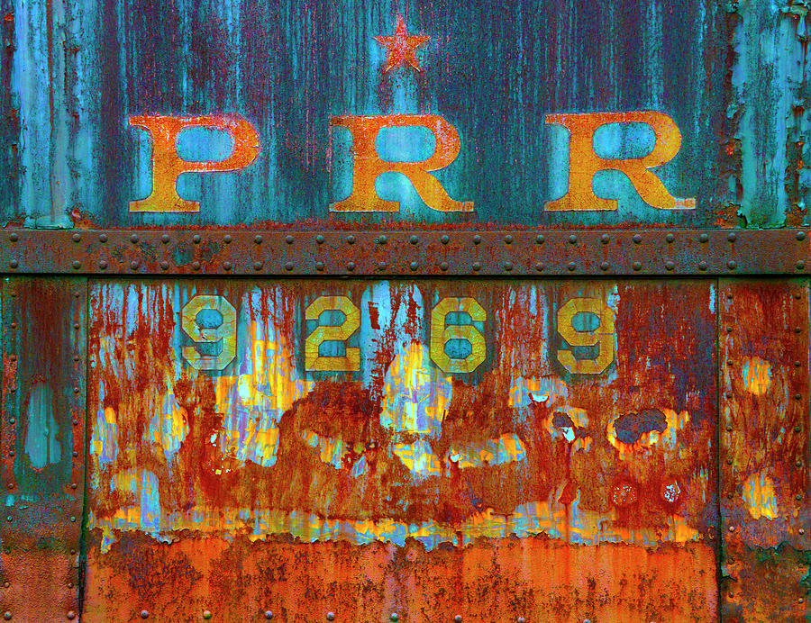 Old PRR 9269 Rusting Away by Paul W Faust - Impressions of Light