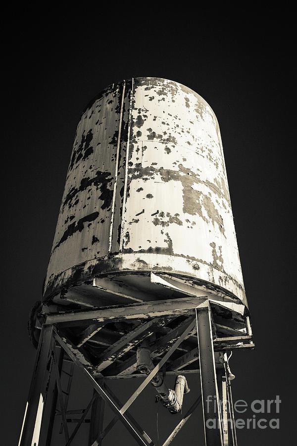 Old Railroad Watertower by Edward Fielding