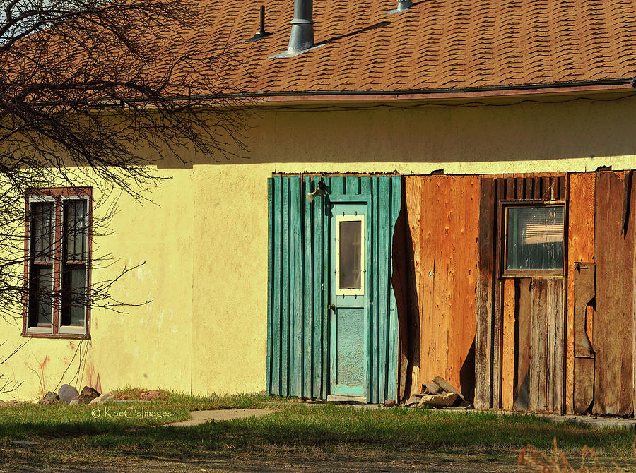 Old Ranch Building in Spring Sunlight by Kae Cheatham
