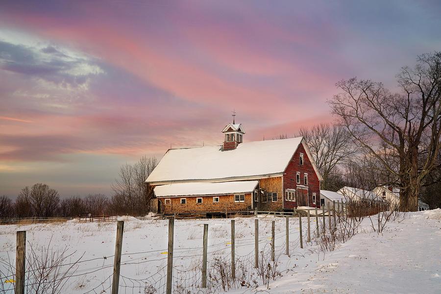 Old Red Barn by Darylann Leonard Photography