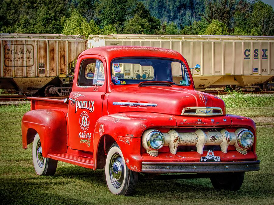 Old Red Truck by Jack Wilson