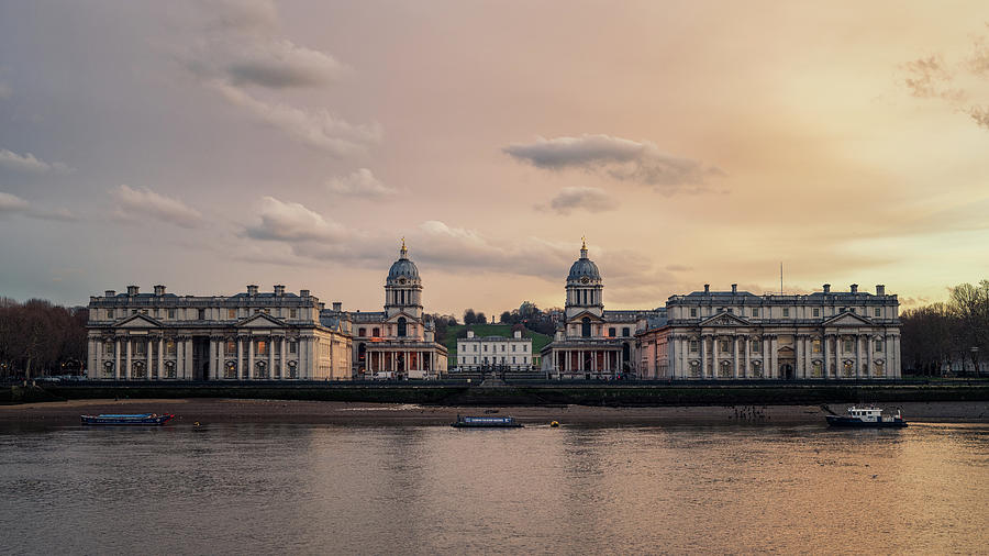 Old Royal Naval College by James Billings