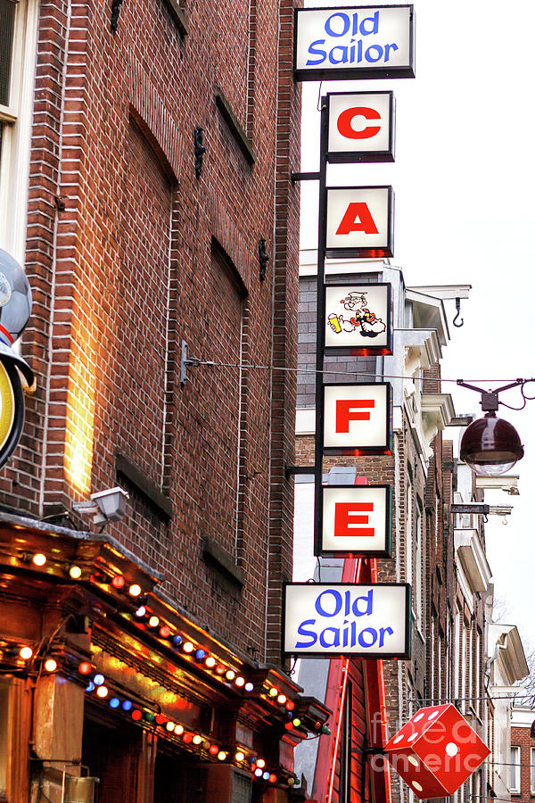 Old Sailor Cafe in Amsterdam by John Rizzuto